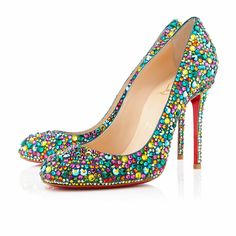 Fifi Strass 100mm Multicolor