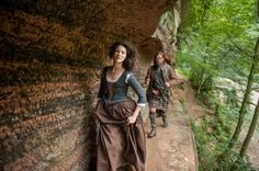"#Outlander Season 1x14 ""The Search"" #ClaireRandall #ClaireFraser #LadyBrochTuarach #CaitrionaBalfe #MurtaghFraser #DuncanLacroix"