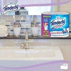 #Tenderly Triple Soft Gran Rotolo: la straordinaria morbidezza Tenderly unita ad un rotolo che sembra non finire mai!