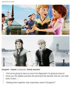 So cute! Why is this not a real thing?? Get on it, Disney! =P