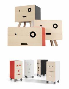 Fun Neotoi Face Furniture. Fun Neotoi Face Furniture Takie mebelki można zrobić samemu. Tu również używamy farby olejnej kryjącej w różnych kolorach jak i farby olejnej laserunkowej. Powierzchnie nie są pokryte na 100%, widać strukturę drewna. Aby powierzchnia była gładka używamy na zakończenie wosku pszczelego i polerujemy.  http://dom-z-natury.pl/wosk_pszczeli_niezolknacy.html http://dom-z-natury.pl/farba_olejna_kryjaca.html http://dom-z-natury.pl/farba_olejna_laserunkowa.html