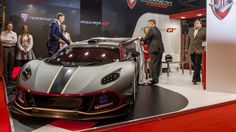 Arrinera reveals the Hussarya GT at the Autosport International show in England, taking Poland's mid-engined supercar to the track with a V8 good for as much as 650 horsepower.