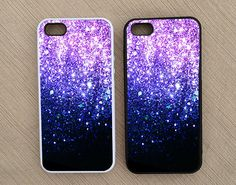 Ombre Fade Pattern Glitter iPhone Case, iPhone 5 Case, iPhone 4 Case, iPhone 4S Case - Not Real Glitter - SKU: 51 on Etsy, $11.95