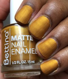 "Bettina ""Antique Gold"" @BettinaCosmetic"