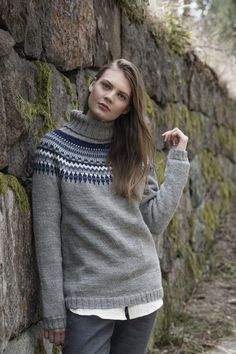 Nordic Yarns and Design since 1928 Knitwear, Turtle Neck, Pullover, Knitting, Knits, Sweaters, Pattern, Collection, Beautiful