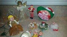 Assortment of Vintage Christmas Decorations by 3LittleWitches on Etsy