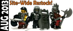 Sunday marks the 2 year anniversary of when BrickWarriors 1st opened. We couldn't have done it without all of our great fans in the Lego community.  To say thanks, we've restocked all of the sold out items on our website and also restocked a lot of popular items in popular colors, including: Vambraces, Horned Plate Armor  Galaxy Enforcer Armor  Riot Shield  Demon Armor  French AR  Trojan Shield  And tons more! #custom #lego #guns #minifigures #brickwarriors #weapons #helmets #armor