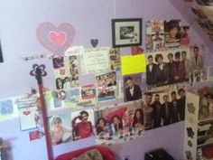 Ok pic of my posters I have WAY MORE (one side)