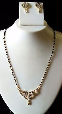0 inchescolor - gold care tips wear your jewelry after applying make-up… Diamond Mangalsutra, Pearl Necklace, Make Up, How To Apply, Indian, Pearls, Tips, How To Wear, Gold
