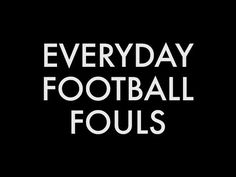 Everyday Football Fouls- Flop Life: What If We All Acted Like We Were In The World Cup?