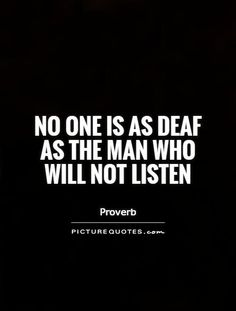 12 Best Listen images | Listening quotes, Quotes, Sayings