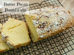 Butter Pecan Pound Cake Recipe #12DaysOf Tis the season for amazing food! Today I am really excited to share the recipe for that delicious looking Butter P