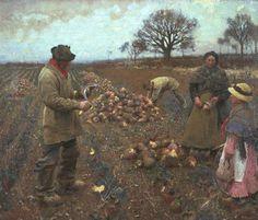 George Clausen - Winter Work 1883-4