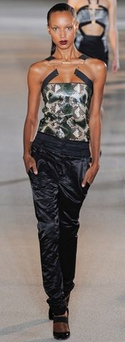 Anthony Vaccarello - S/S 2012 live the top!