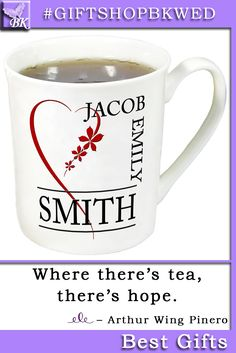 Personalized wedding mugs will certainly surprise your guests. Mugs are a great addition to your decor Custom gift mug Bride Groom His Her mr mrs Family home bridesmaid Bridal Shower Favors monogram Anniversary Mom Dad holidays Christmas #giftshopbkwed #wedding #teacup #mug #porcelain #ceremony #specialday #personalized #gift #rustic #Bride #Groom #His #Her #mr #mrs #anniversary #custom #monogram #diy #shabbychic #favor #love #tree #decor #shabby #chic #home #ideas #nature #birthday