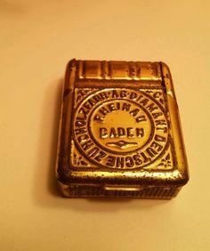 Vintage *AG* DIAMANT DEUTSCHE ZUNDHOLZFABR RHEINAU BADEN MATCH BOX - ERA 1910