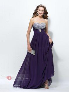US$155.99 Glamorous A-Line Sweetheart Pleats Sequins Beading Empire Waistline Evening Dress. #Dresses #Beading #Sweetheart #Pleats