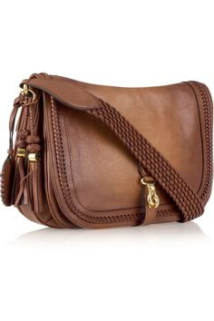 GUCCI  Leather messenger bag