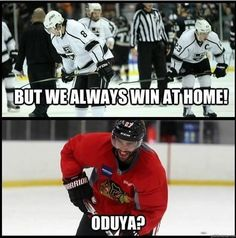 Leave it to the Blackhawks to fist fuck your record