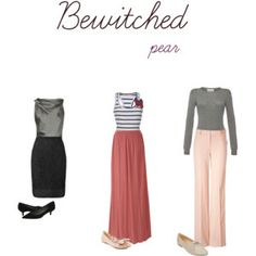 Bewitched Inspired Clothing for Pear Shaped Women Pear Shaped Dresses, Pear Shaped Outfits, Pear Shape Fashion, Pear Shaped Women, Pear Body, Fashion Silhouette, Vogue, Business Outfits, Dress For You