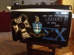 Lovely Sigma Chi Cooler