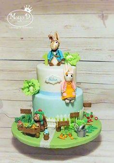Gateau d'anniversaire pour lapin