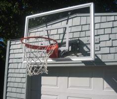 Basketball Hoop over the Garage