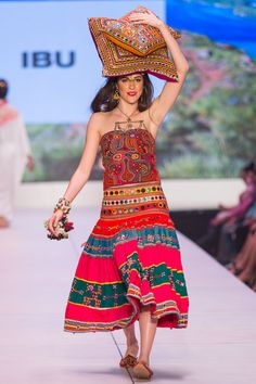 ibu Movement Runway Collection | Rajasthani Skirt, Mola Top