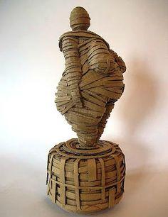 Manu Rigutto - Sculpture avec carton