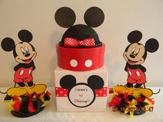 Mickey Mouse Birthday Set | PoppinPartyDesigns - Children's on ArtFire
