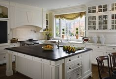 kitchen from traditional home magazine Traditional Home Magazine, Traditional Kitchen, Traditional House, Cottage Kitchens, Home Kitchens, Dream Kitchens, New Kitchen, Kitchen Dining, Kitchen Ideas