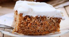 Carrot Cake with Vanilla Cream Cheese Frosting Recipe | McCormick