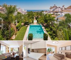 The urbanisation is designed in the style of a mediterranean village. It is situated next to the sierra blanca and its neighbour is the well known Marbella Hill Club… Luxury Property For Sale, 2 Bedroom Apartment, Apartments For Sale, Club, Outdoor Decor, Home, Design, Style, Swag