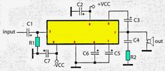 Subwoofer Amplifier Circuit 30W