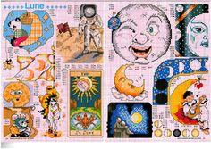 Moons Cross Stitch Patterns