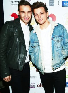 Liam Payne and Louis Tomlinson.