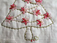 Day 4 - Holiday Hostess Table Topper tutorial!  Hand quilting and machine quilting.