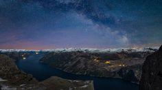 Foto: Frank Otto Pedersen Prekestolen, Norway