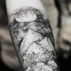 Mountain Tattoo Arm                                                                                                                                                     More