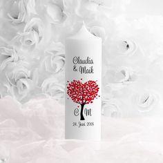 """Hochzeitskerze """"Herzbaum"""" #wedding #unitycandle #hochzeit"""