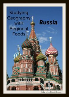 Studying Geography with Regional Foods: Russia @Education Possible