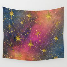 Cosmic image, with glitz and color. No real glitter will appear on print