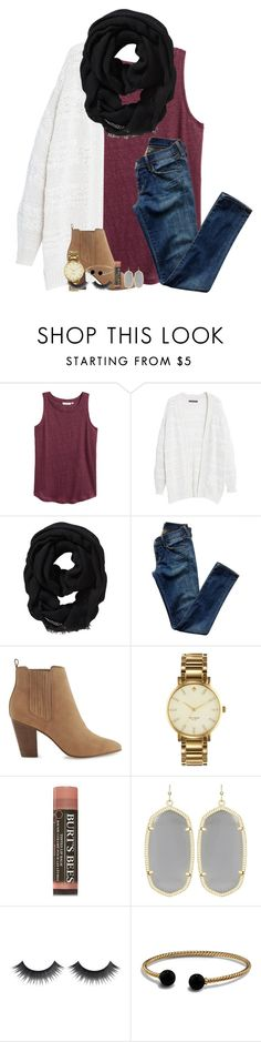 """scotland//day two//rtd!"" by lindsaygreys ❤ liked on Polyvore featuring H&M, Violeta by Mango, Old Navy, Citizens of Humanity, ALDO, Kate Spade, Burt's Bees, Kendra Scott and David Yurman"