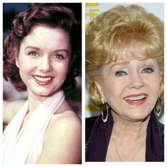 Debbie Reynolds, so fabulous! Made timeless classics like Singin' in the Rain and The Unsinkable Molly Brown, and made more recent classics like Halloweentown! My mind was blown when I figured this out. And she's the mother of Carrie Fisher!