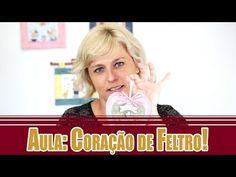 Modulo 1 Grátis - Coração de Feltro - Drica - Duna Atelier - YouTube