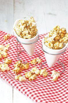 Vanille karamel popcorn