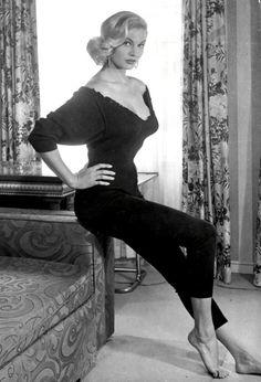 Anita Ekberg in the 50s