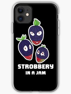 Stealing strawberries in the middle of a heist. Funny berry slogan gift. • Millions of unique designs by independent artists. Find your thing. Food Illustrations, Iphone Case Covers, Strawberries, Slogan, Iphone 11, Berry, Finding Yourself, Middle, Artists