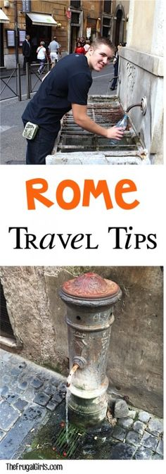 Top Frugal Rome Italy Travel Tips at TheFrugalGirls.com