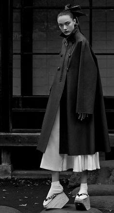Yumi Lambert by Yu Cong for Harper's Bazaar China, May 2015 - instagram.com/id_entry